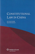 Cover of Constitutional Law in China