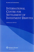 Cover of International Centre Settlement Investment Disputes (ICSID)