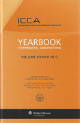 Cover of Yearbook Commercial Arbitration 2013: Volume 38