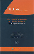 Cover of International Arbitration: The Coming of a New Age