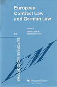 Cover of European Contract Law and German Law