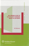 Cover of Variable Scope of the Exclusive Economic Rights in Copyright
