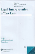 Cover of Legal Interpretation of Tax Law
