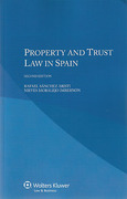 Cover of Property and Trust Law in Spain