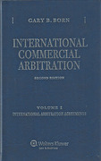 Cover of International Commercial Arbitration 2nd ed: Volume 1 International Arbitration Agreements