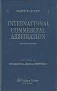 Cover of International Commercial Arbitration 2nd ed: Volume 2 International Arbitration Procedures
