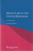 Cover of Media Law in the United Kingdom