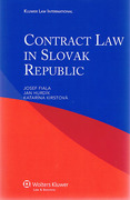 Cover of Contract Law in the Slovak Republic