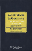 Cover of Arbitration in Germany: The Model Law in Practice