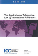 Cover of Dossier XI: The Application of Substantive Law by International Arbitrators