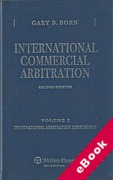Cover of International Commercial Arbitration (eBook)