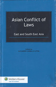 Cover of Asian Conflict of Laws: East and South East Asia