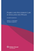 Cover of Family and Succession Law in England and Wales