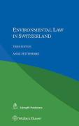 Cover of Environmental Law in Switzerland