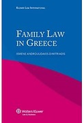 Cover of Family and Succession Law in Greece