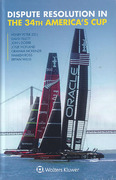 Cover of Dispute Resolution in the 34th America's Cup
