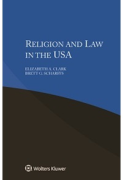 Cover of Religion and Law in the USA