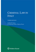 Cover of Criminal Law in Italy
