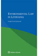 Cover of Environmental Law in Lithuania