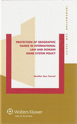 Cover of Protection of Geographic Names in International Law and Domain Name System Policy