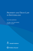 Cover of Property and Trust Law in Switzerland