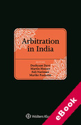 Cover of Arbitration in India (eBook)