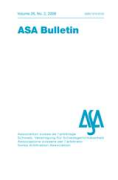 Cover of ASA Bulletin: Print Only