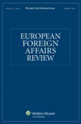 Cover of European Foreign Affairs Review: Print