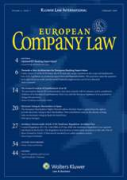 Cover of European Company Law: Print Only