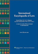 Cover of International Encyclopaedia of Laws: Private International Law Looseleaf