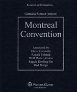 Cover of Montreal Convention Commentary Looseleaf