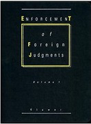 Cover of Enforcement of Foreign Judgments Looseleaf