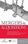 Cover of Mergers & Acquisitions: A Practical Guide for Private Companies and their UK and Overseas Advisers