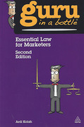 Cover of Guru in a Bottle: Essential Law for Marketers