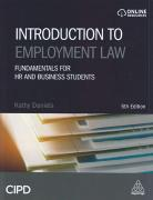 Cover of Introduction to Employment Law: Fundamentals for HR and Business Students