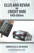 Cover of Ellis and Kevan on Credit Hire