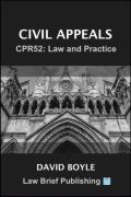Cover of Civil Appeals – CPR52: Law and Practice
