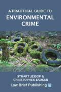 Cover of A Practical Guide to Environmental Crime