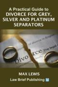 Cover of A Practical Guide to Divorce for Grey, Silver and Platinum Separators