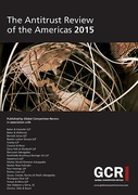Cover of The Antitrust Review of the Americas 2015