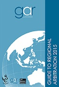 Cover of Guide to Regional Arbitration 2015