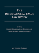 Cover of The International Trade Law Review