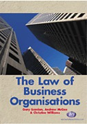 Cover of Law of Business Organisations