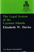 Cover of The Legal System of the Cayman Islands