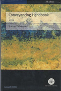 Cover of The Law Society's Conveyancing Handbook 1999