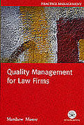 Cover of Quality Management for Law Firms