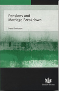 Cover of Pensions and Marriage Breakdown