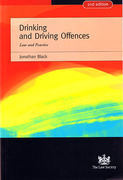 Cover of Drinking and Driving Offences
