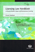 Cover of Licensing Law Handbook: A Practical Guide to Liquor and Entertainment Licensing