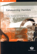 Cover of Conveyancing Checklists